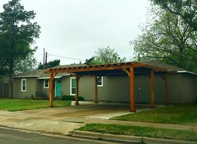 Lubbock Single Family Home For Sale: 2704 Canton Avenue
