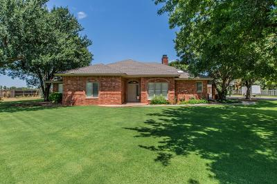 Lubbock Single Family Home Under Contract: 3520 152nd Street