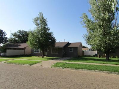 Bailey County, Lamb County Single Family Home Under Contract: 720 East 15th