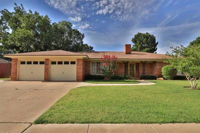 Lubbock Single Family Home For Sale: 5711 76th Street