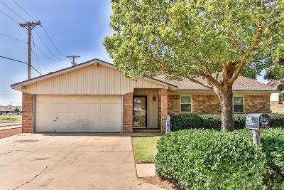 Lubbock Single Family Home For Sale: 5501 Fordham Street