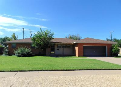Lubbock Single Family Home For Sale: 3615 45th Street