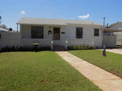 Lubbock County Single Family Home For Sale: 307 39th Street