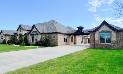 Lubbock TX Single Family Home For Sale: $769,900