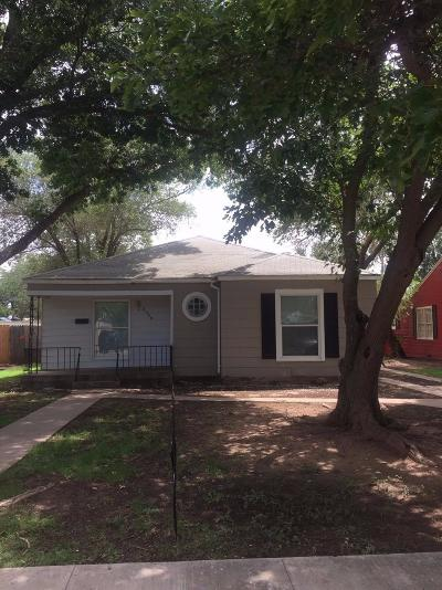 Lubbock Rental For Rent: 2509 25th Street