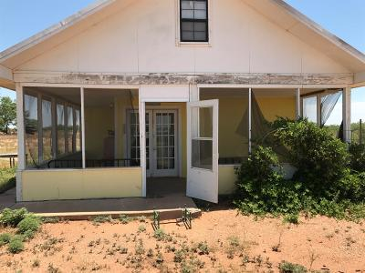 Justiceburg TX Single Family Home For Sale: $149,900