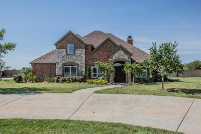 Lubbock Single Family Home Under Contract: 5307 County Road 7560