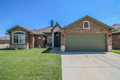 Lubbock Single Family Home For Sale: 7207 Pontiac Avenue