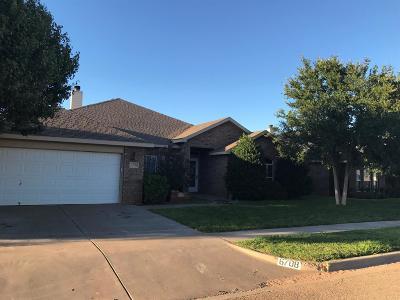 Lubbock Single Family Home For Sale: 6708 91st Lane