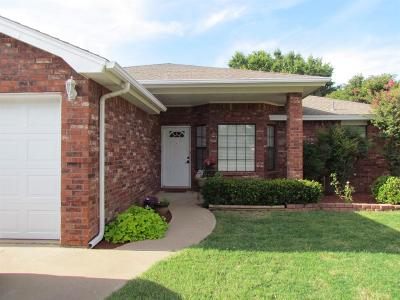 Lubbock Single Family Home For Sale: 2806 85th Street