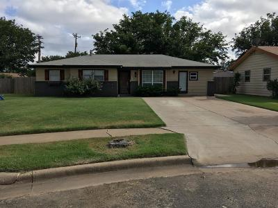 Lubbock TX Single Family Home For Sale: $82,000