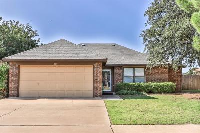 Lubbock Single Family Home For Sale: 2315 84th