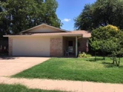 Lubbock Single Family Home Under Contract: 7107 Wayne Avenue