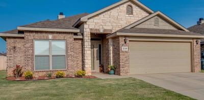 Lubbock TX Single Family Home Under Contract: $192,500