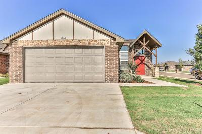 Lubbock TX Single Family Home For Sale: $186,900