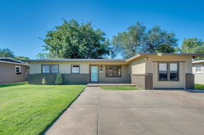 Lubbock TX Single Family Home For Sale: $119,000