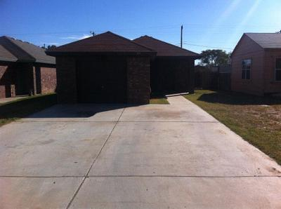 Lubbock Rental For Rent: 109 79th Street