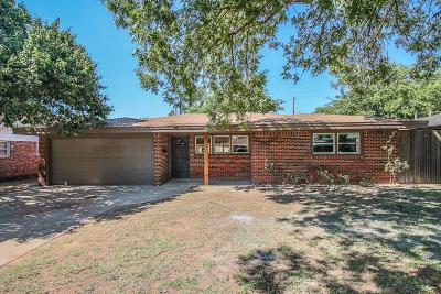 Lubbock Single Family Home For Sale: 4318 49th Street