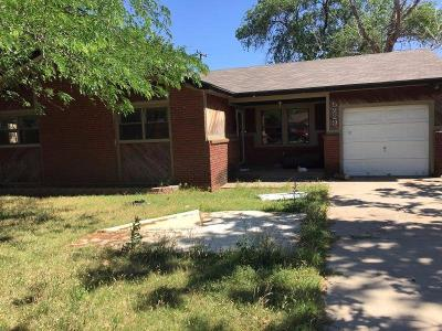 Lubbock Single Family Home Under Contract: 5229 41st Street