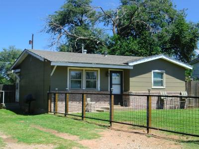 Lubbock TX Single Family Home Sold: $42,950