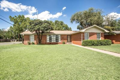 Lubbock TX Single Family Home For Sale: $169,900