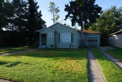 Lubbock Single Family Home For Sale: 2509 30th Street