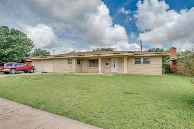 Lubbock Single Family Home For Sale: 5428 9th Street