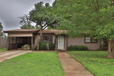Lubbock County Single Family Home For Sale: 2116 47th Street