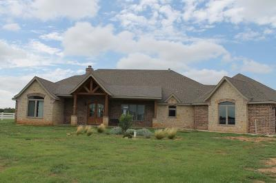 Single Family Home For Sale: 3414 County Road 7610