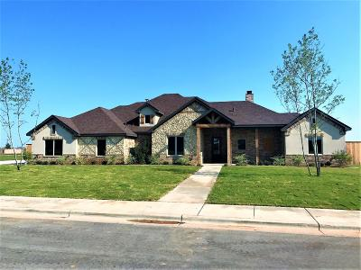 Lubbock Single Family Home For Sale: 6212 Private Road 6460
