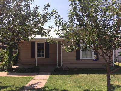 Lubbock TX Single Family Home Under Contract: $39,900