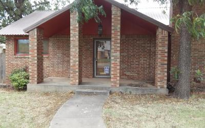 Single Family Home For Sale: 1006 West Harris