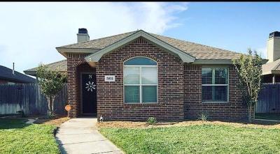 Lubbock Garden Home Under Contract: 5832 103rd Street