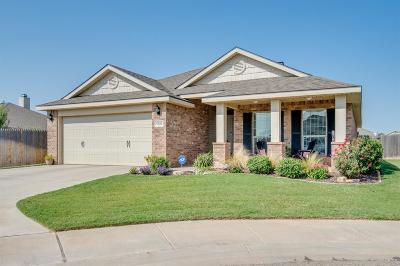Lubbock Single Family Home Under Contract: 9310 Ridgely Avenue
