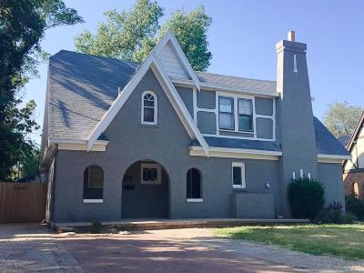 Lubbock Single Family Home Under Contract: 2621 22nd Street
