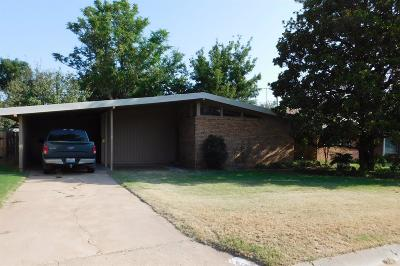 Bailey County, Lamb County Single Family Home Under Contract: 113 East 20th Street