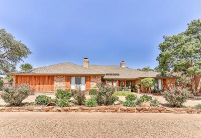 Lubbock Single Family Home For Sale: 4016 93rd Street