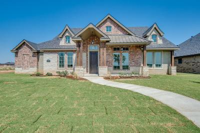 Lubbock Single Family Home For Sale: 3508 135th Street