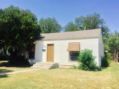 Lubbock Single Family Home Under Contract: 2314 31st Street