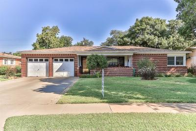 Lubbock Single Family Home Under Contract: 3316 37th Street
