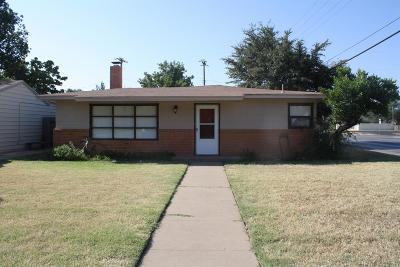 Lubbock Single Family Home For Sale: 4319 40th Street