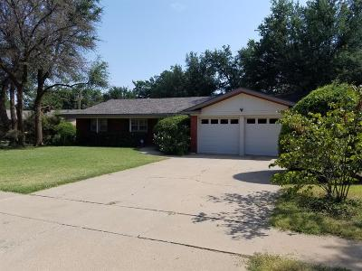 Lubbock TX Single Family Home For Sale: $169,500