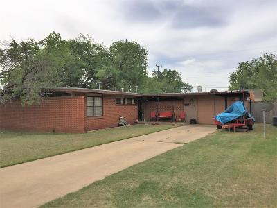 Lubbock Single Family Home For Sale: 2505 47th Street