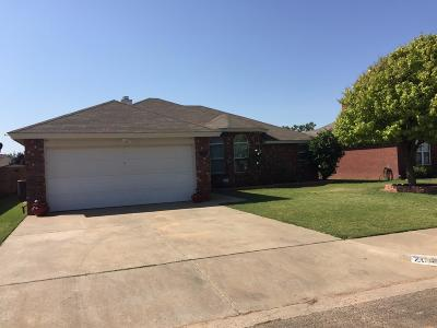 Lubbock TX Single Family Home Under Contract: $140,000
