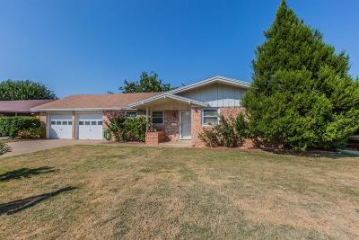 Lubbock Single Family Home Under Contract: 5408 15th Street