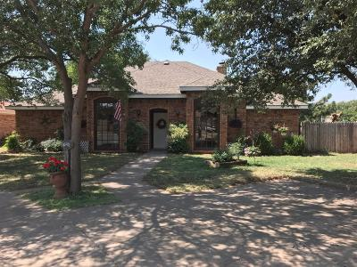 Lubbock TX Single Family Home For Sale: $174,995