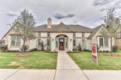 Lubbock Single Family Home Under Contract: 3515 134th Street