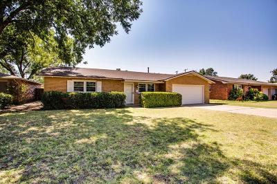 Lubbock Single Family Home For Sale: 3805 48th Street