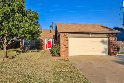 Lubbock Single Family Home For Sale: 8217 Elkridge Avenue