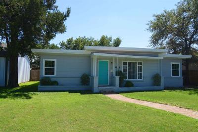 Lubbock Single Family Home For Sale: 3615 26th Street